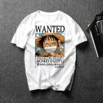 Camiseta de Se Busca: Monkey D. Luffy